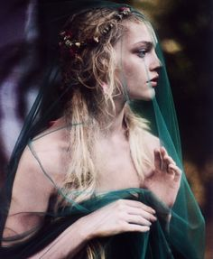 fairy tales and long green veils
