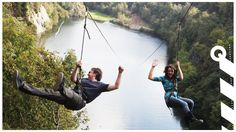Adrenaline Quarry zip line, Liskeard