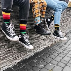 "𝓜𝓪𝓻𝓽𝔂𝓷𝓪 𝓖ł𝓸𝔀𝓪𝓬𝓴𝓪 on Instagram: ""@happysocks #happysocks #socks #converse #autumn #photo #photography #instaphoto #instagood"""