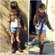 Lovely outfit little girl / boys fashion fashion Kids fashion / swag / swagger / little fashionista / cute / love it! Fashion Kids, Little Girl Fashion, Toddler Fashion, Look Fashion, Outfits Niños, Kids Outfits, Fashion Outfits, Swagg Girl, Girl Swag