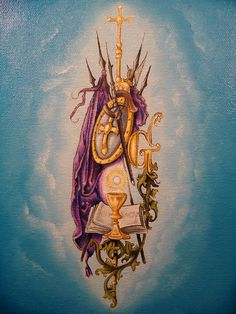 """""""Armor of God"""".......oil on canvas  by Raven Wing Hughes"""
