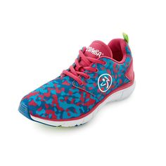 63ca7952404bb6 The Zumba Fly Print Shoes features a weightless design and breathable  fabric technology that ll have you soaring with every shimmy