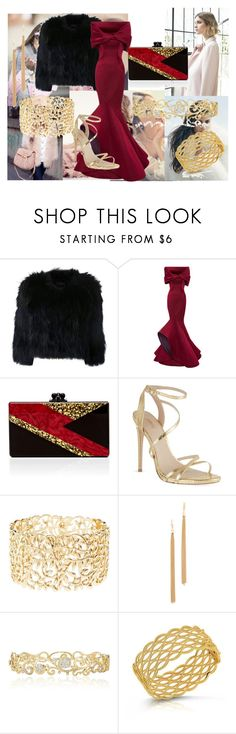 """""""My style"""" by nadina-2001 ❤ liked on Polyvore featuring Nuevo, H Brand, Alexis Mabille, Edie Parker, Carvela, Charlotte Russe, Jules Smith, Effy Jewelry and Roberto Coin"""