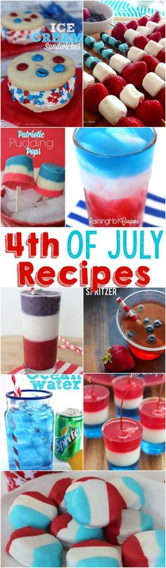 List of Ten 4th of July Recipes