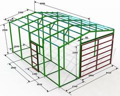 Small Garden Design, Small House Design, Roof Truss Design, Steel Trusses, Welding Art Projects, Steel Frame Construction, My House Plans, Technical Drawing, Metal Roof