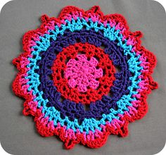 Crochet Doily: Free Tutorial/Pattern