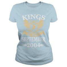 Kings Legends Are Born In September 2004 T-Shirt #gift #ideas #Popular #Everything #Videos #Shop #Animals #pets #Architecture #Art #Cars #motorcycles #Celebrities #DIY #crafts #Design #Education #Entertainment #Food #drink #Gardening #Geek #Hair #beauty #Health #fitness #History #Holidays #events #Home decor #Humor #Illustrations #posters #Kids #parenting #Men #Outdoors #Photography #Products #Quotes #Science #nature #Sports #Tattoos #Technology #Travel #Weddings #Women