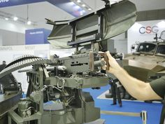 [Indo Defense Hands on with Rheinmetall Canada's Field Ranger RCWS System - Fn Mag, Gun Turret, Apc, Special Forces, Firearms, Ranger, Xbox, Weapons, Guns