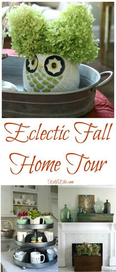 Eclectic Fall Home T