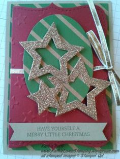 Stampin Up gift card