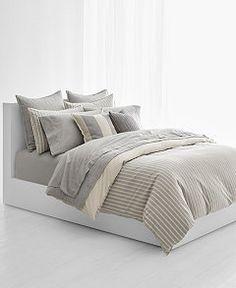 96ba0f0df0 Lauren Ralph Lauren Graydon Cotton Bold Stripe Full/Queen Duvet Cover Duvet  Cover Sizes,