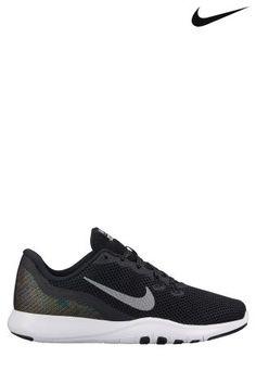 Nike Black Metallic Flex Trainer