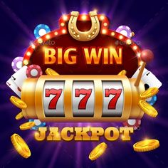 Buy Big Win 777 Lottery Vector Casino Concept by MicrovOne on GraphicRiver. Big win 777 lottery vector casino concept with slot machine. Win jackpot in game slot machine illustration