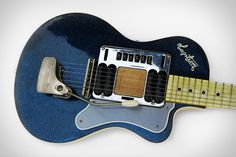 Kurt Cobain would have been 50 years old this month, and to honor the rock legend one of his guitars is going up for a special auction. Kurt Cobain's Hagstrom Blue Sparkle Deluxe Guitar was owned by the Nirvana frontman...