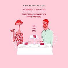"""""""Los bombones ya no se llevan"""" #Valentine #Add by Andilana"""
