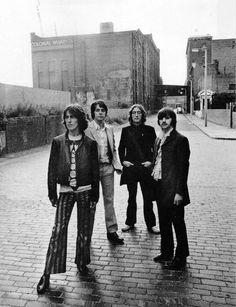 """The sixth location of the Beatles' Mad Day Out photo shoot was at Wapping Pier Head and High Street, London, on 28 July Don McCullin: """"Lennon started stripping off, so did Paul McCartney. I suppose that meant they were relaxed. Foto Beatles, Les Beatles, Beatles Photos, Beatles Bible, Beatles Albums, Beatles Art, Ringo Starr, George Harrison, Paul Mccartney"""