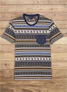 T-shirt homme Chevignon bleu marine Hiver 2014