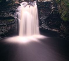 Falls of Falloch, Scotland.   by GraBor