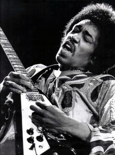 Jimi Hendrix 1942-1970. Died of asphyxia while intoxicated with barbiturates at the age of 27.