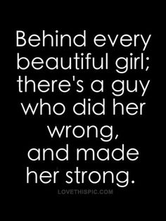 That's not true.  And if it was, then that basically just means beautiful girls are all dumb and pick mean guys.  Hmm maybe a guy dumped her because she was really shallow.  Because any girl who reposts this will basically be saying she's one of those and she's calling herself beautiful.  What guy wants to be with that?