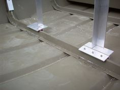 Decking Out a Jon Boat | these two vertical legs were eventually welded (see front floor pic ...