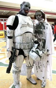 "Zombie Star Wars Storm Troopers    ""The Walking Dead Empire"""