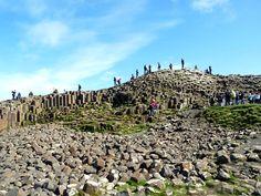 Was wir aus Zeitmangel bei unserem ersten Besuch in Nordirland leider nicht gesehen haben, aber nächstes Mal unbedingt besuchen wollen, ist der Giant's Causeway. Leider mussten wir ein paar Kilomenter vorher abb