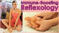 Reflexology for Allergies, Asthma, Stress! Immune Boosting DIY How to Se...