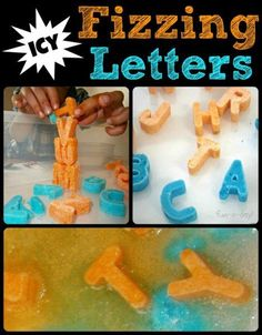 ABC Learning for Kids with Icy Fizzing Letters