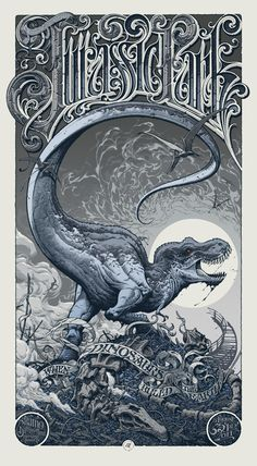 I think I like the variant color way better... Aaron Horkey for Jurassic Park. need to own it.
