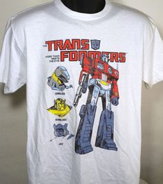 The Transformers Autobots Optimus Prime Mens Size XL T Shirt #transformers #GraphicTee