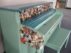 Arts & Services for the Disabled, Inc. Piano in storage .... waiting for its new home!