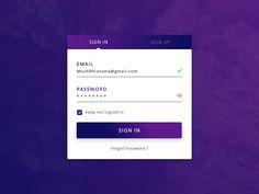 Login Screen Freebie Login Page, Design Products, Material Design, App Design, Application Design