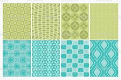 Seamless Retro Vector Patterns ~ Patterns on Creative Market