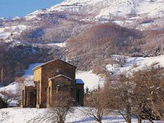 Santa Cristina de Lena   por Montaña Central de Asturias
