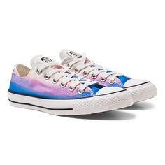 Chuck Taylor All Star Photo Sunset Trainers $51 This dreamy pair of trainers from  Converse are bound to get your girl in the mood for the summer season. Decorated with imagery of a pretty sunset, these lace up trainers also boast branding, non-slip soles and toe caps. Pair with simple leggings and pretty vests for days spent playing in the sunshine this year