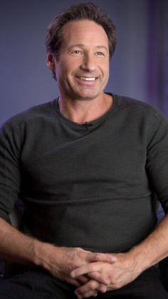 David Duchovny. He's always perfect, but that smile kills me!