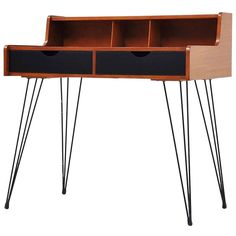 Cees Braakman  Teak and Enameled Metal Desk for Pastoe, c1950. Minimalisme,  Moscou 9c80de7af4cb