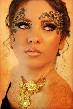 golden goddess @Kacey Randolph Gallaway