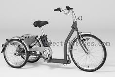 All electric bikes of our company use a crank drive motor. Adult Tricycle, Tricycle Bike, Electric Tricycle, New Motorcycles, Motorcycle Helmets, Bicycle, Blue Prints, Electric Trike, Bike