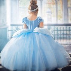 Princess Cinderella Dress Up Costume Cinderella Dress Up, Princess Elsa Dress, Rapunzel Dress, Cinderella Princess, Cinderella Costume Kids, Tangled Princess, Anna Dress, Cinderella Party, Princess Anna