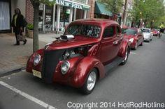 Metuchen New Jersey Downtown Cruise Night 5-7-14 | Hotrod Hotline