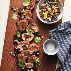 Slow-Cooker Chile-Rubbed Pork with Corn & Black Beans