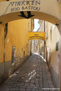 Michael's Gate is the last standing gate in Bratislava. Being one of the main entrances to the city Old Town, you will surely pass it, even if you don't pla Main Entrance, Bratislava, Old Town, Gate, Tower, Museum, Travel, Old City, Rook