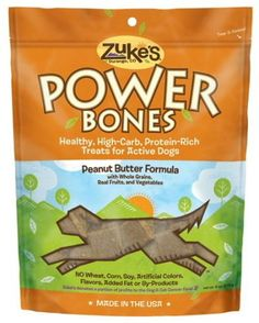 Zukes Power Bones Peanut Butter 6oz >>> You can find more details by visiting the image link.