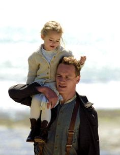 Lucy and Tom. The Light Between Oceans
