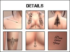 Metallic Tattoos for The Sims 4 Packs The Sims 4, Die Sims 4 Packs, Los Sims 4 Mods, Sims 4 Body Mods, Les Sims 4 Pc, Sims Cc, Sims 4 Tsr, Swatch, Sims 4 Nails