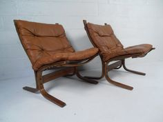 Ingmar Relling for Westnofa Siesta Leather Chairs image 2