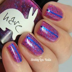 Shelby Lou Nails - Hare Polish - The Sky Was Pink - Indie Nail Polish