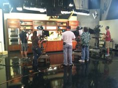 """On set at ABCs Sonoran Living with Raw """"Foodie"""" Pam Nectar!"""